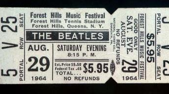 Appraisal: 1964 Forest Hills Tennis Club Beatles Unused...
