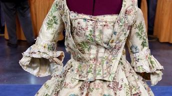 Appraisal: French Brocade Dress, ca. 1775