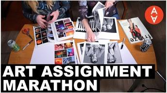S2 Ep48: Art Assignment Marathon