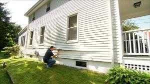 Ask This Old House | Remove Shrubs, Siding