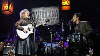 "Shovels & Rope perform ""Birmingham"" at the 2013 Americana Mu"