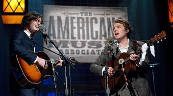 "The Milk Carton Kids perform ""Hope of a Lifetime"" at the 201"