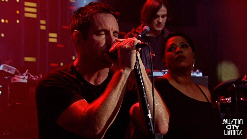 "Nine Inch Nails ""Came Back Haunted"" image"