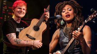 Ed Sheeran and Valerie June