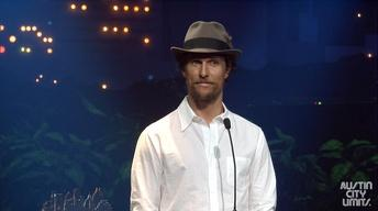 Austin City Limits Hall of Fame 2014: Matthew McConaughey