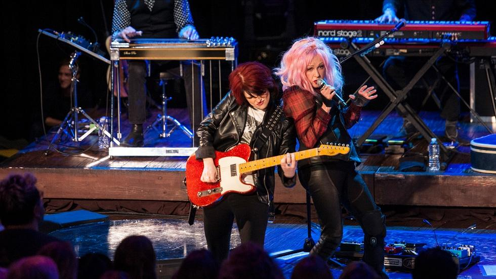"S42 Ep9: Cyndi Lauper ""Girls Just Want to Have Fun"" image"