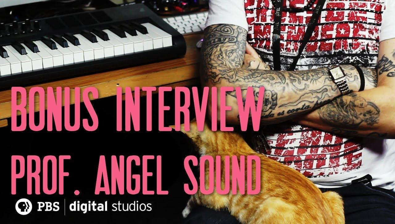 Prof. Angel Sound Prison Beats Interview  image