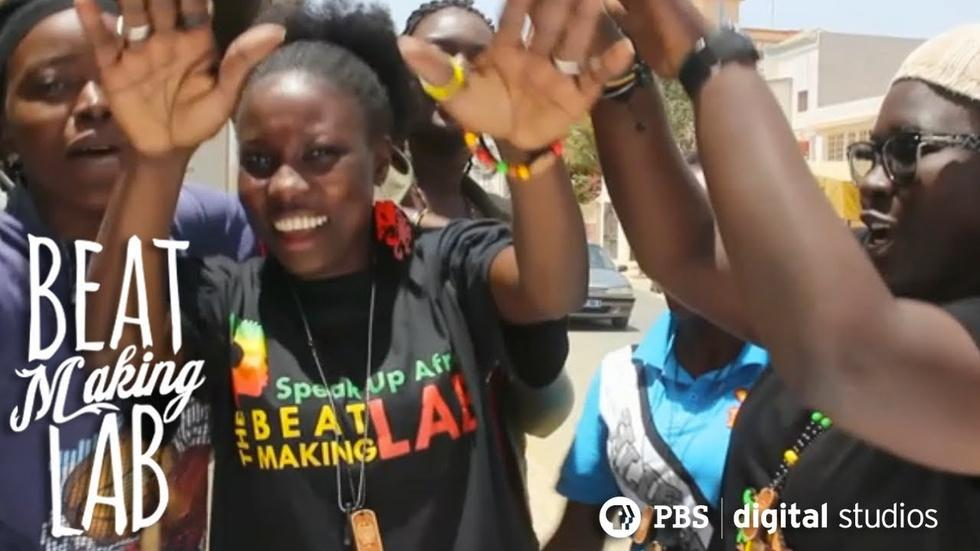 Female Hip Hop Crew Makes Beats in Senegal  image