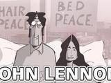 Blank on Blank   John Lennon and Yoko Ono on Love