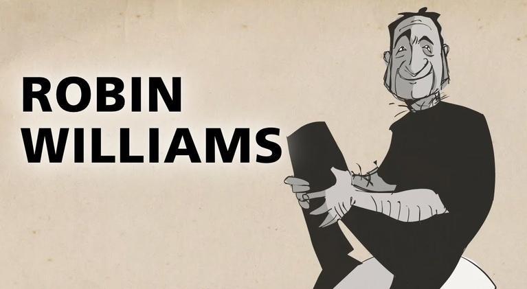 Blank on Blank: Robin Williams on Masks