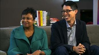 Dr. Carla Hayden & Gene Luen Yang | 2016 Natl Book Festival