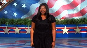 Candice Glover Sings The National Anthem