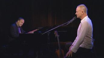 "Sting Performs ""Practical Arrangement"" on Charlie Rose"