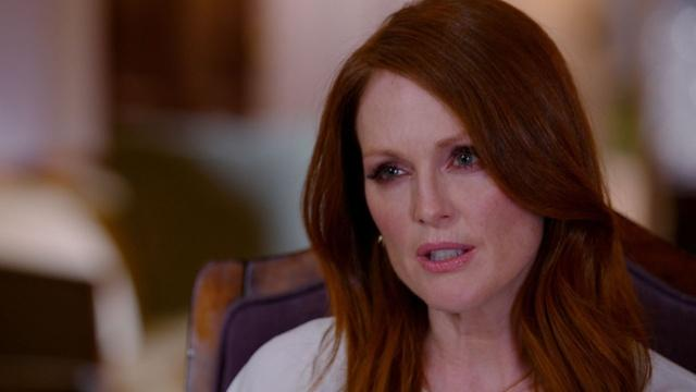 Julianne Moore on Alzheimer's and