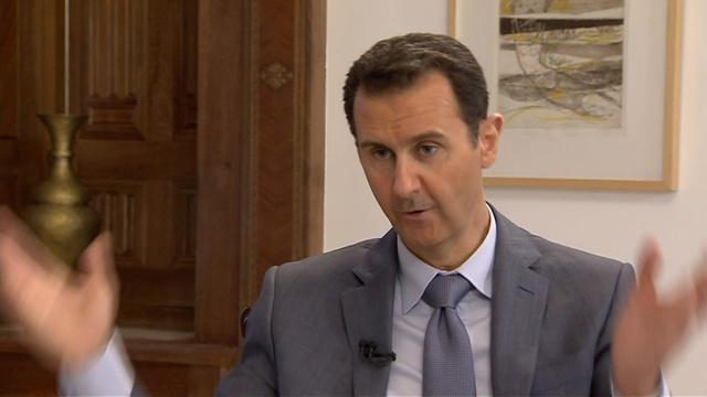 Syria's Bashar Al-Assad: War-Crimes Claims Are 'Propaganda'