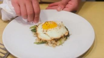 S1 Ep8: Ginger and Leek Crispy Rice with a Sunnyside-Up Egg