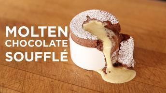 Molten Chocolate Soufflé image