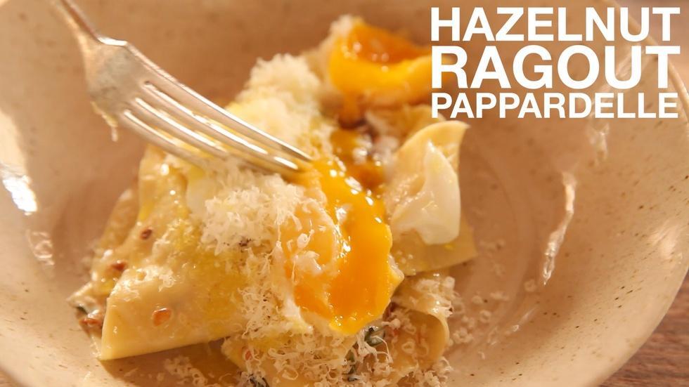 Hazelnut Ragout Pappardelle image