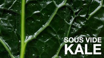 Sous Vide Kale