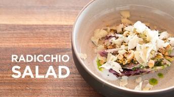 Microwaved Radicchio Salad