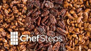 Deep Fried Glassy Nuts