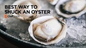 The Best Way to Shuck an Oyster