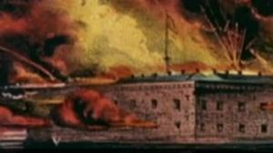The Civil War began at 4:30 a.m. on April 12, 1861 at Ft. Sumter, Charleston, SC.
