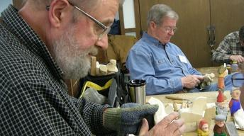 Woodcarver Harley Refsal talks about materials