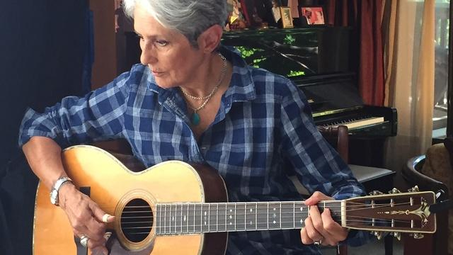 Joan Baez on activism, Vietnam, and the guitar