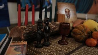 S7 Ep2: Malik Seneferu dresses Kwanzaa table