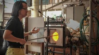 S8: Recycling malasada oil for glass blowing at Punahou Scho