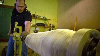 Woodturner Matt Moulthrop
