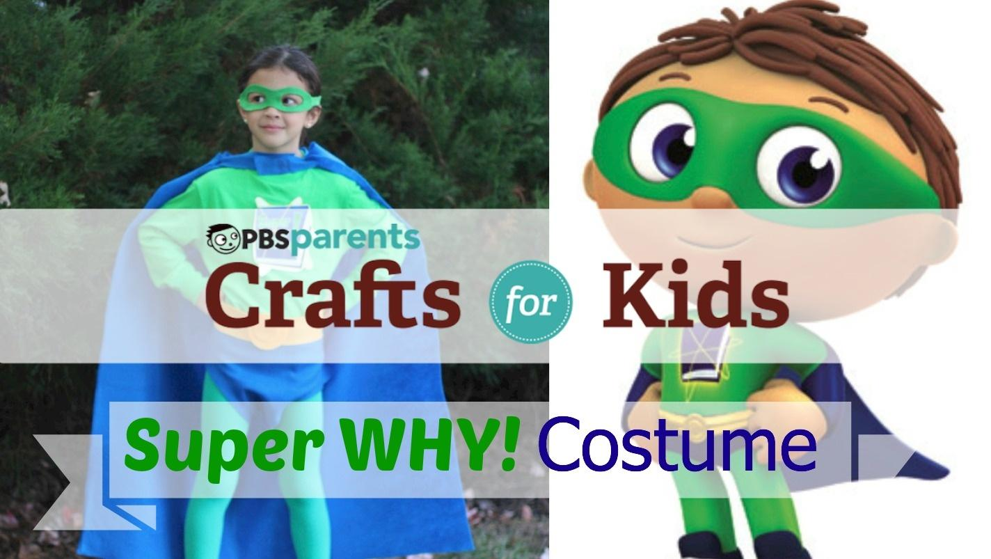 No-Sew Super Why Costume image
