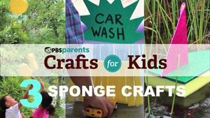 Three Summer Sponge Crafts