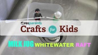Milk Jug Whitewater Raft