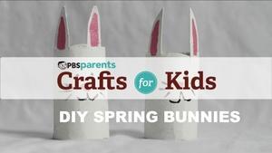 Cardboard Spring Bunnies