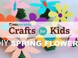 Crafts for Kids | Spring-y Flowers
