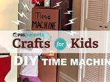 Crafts for Kids | DIY Cardboard Time Machine