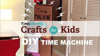 DIY Cardboard Time Machine