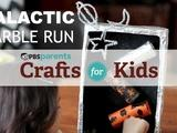Crafts for Kids | Galactic Marble Run