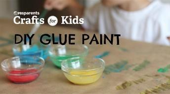 DIY Glue Paint