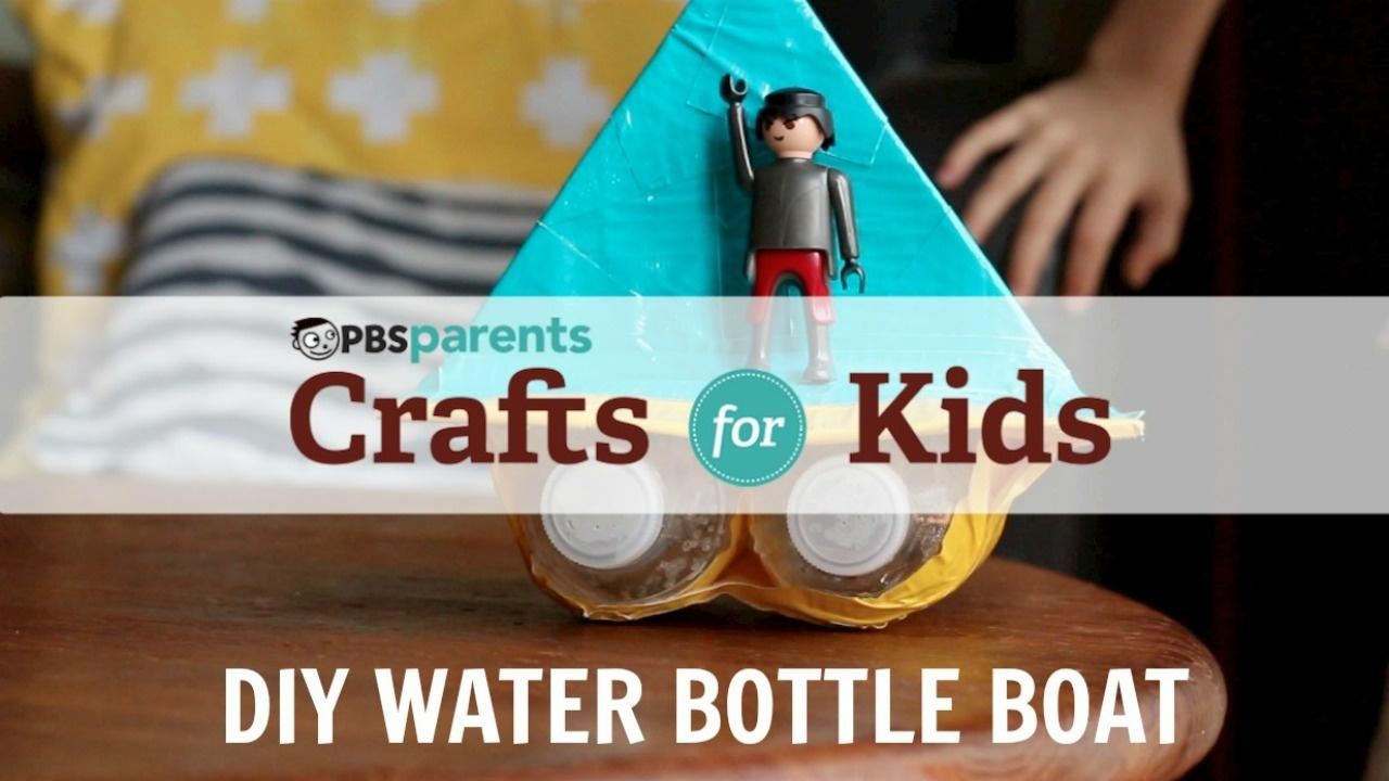 DIY Water Bottle Boat  image