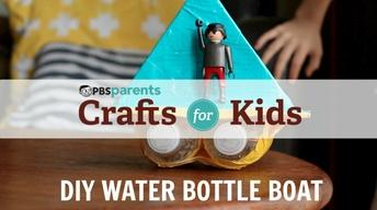 DIY Water Bottle Boat