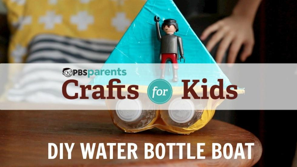 DIY Water Bottle Boat  image