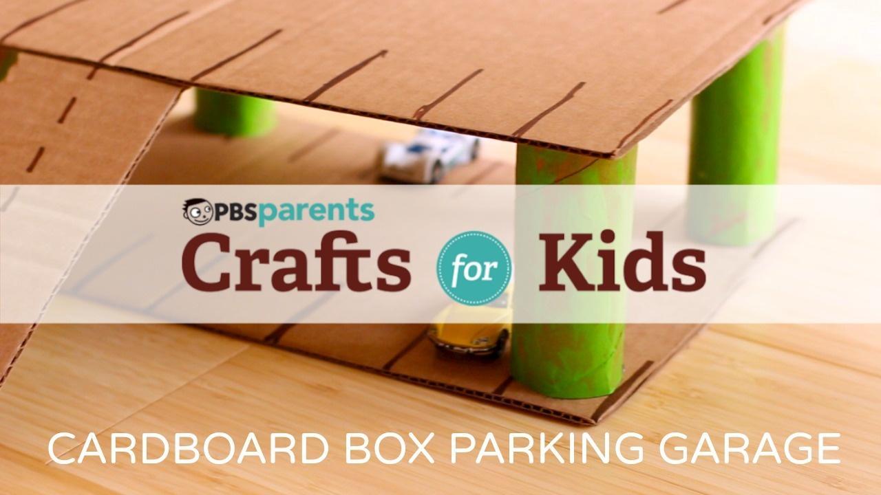 Cardboard Parking Garage image