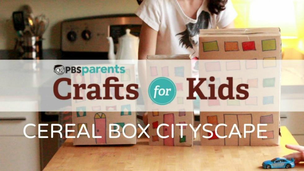 Cereal Box Cityscape image