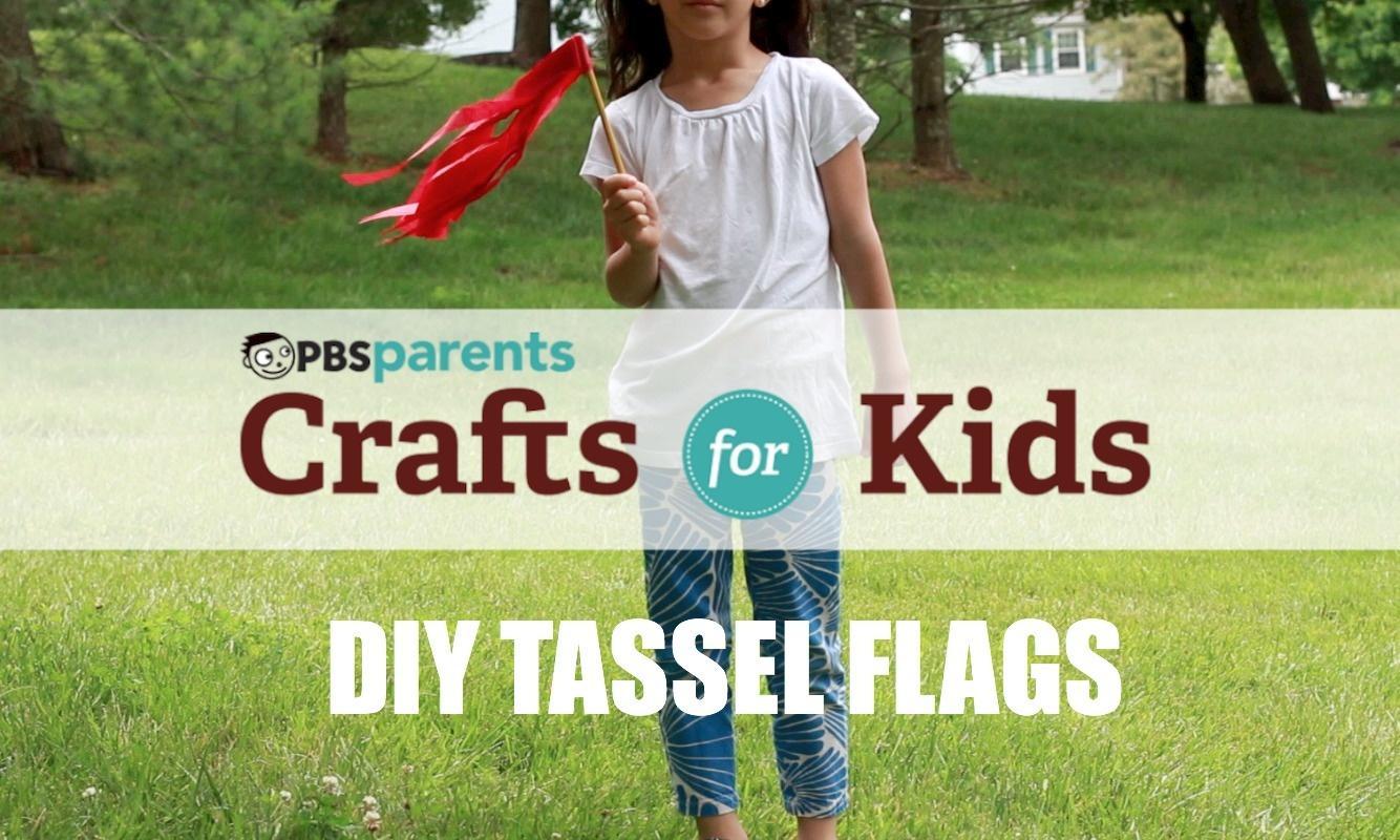 DIY Tassel Flags  image