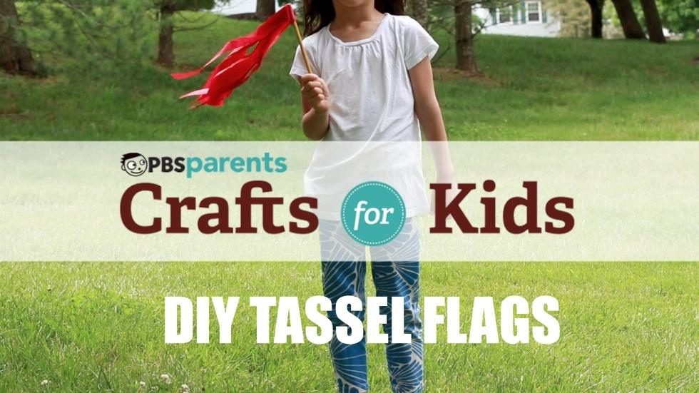 DIY Tassel Flags  image