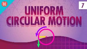 Uniform Circular Motion: Crash Course Physics #7