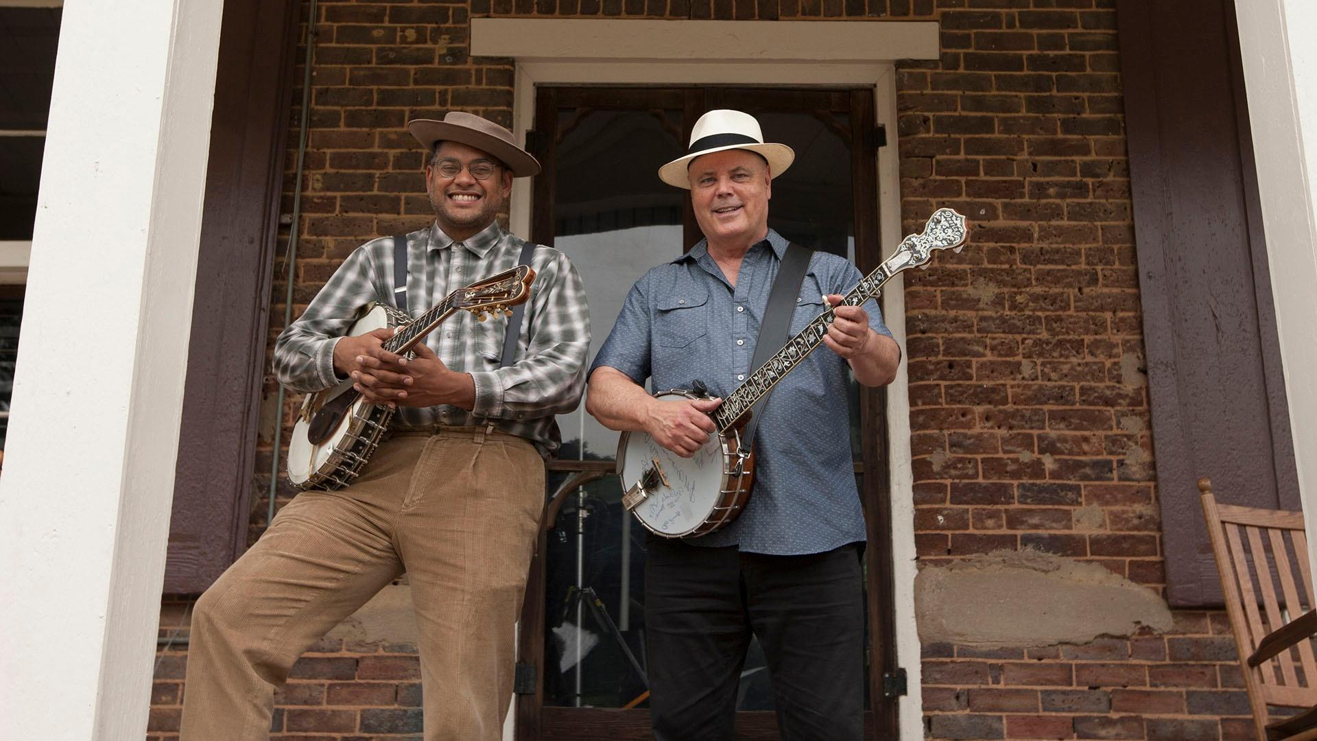 Dom Flemons and David Holt